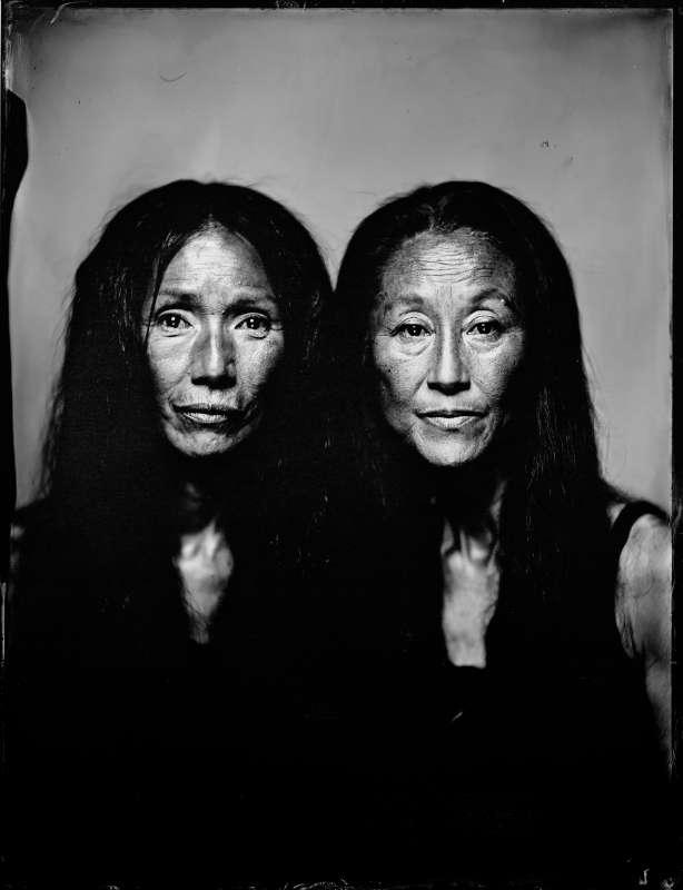 Minako Seki Yumiko Yoshioka by thilo nass silberbilder wet plate