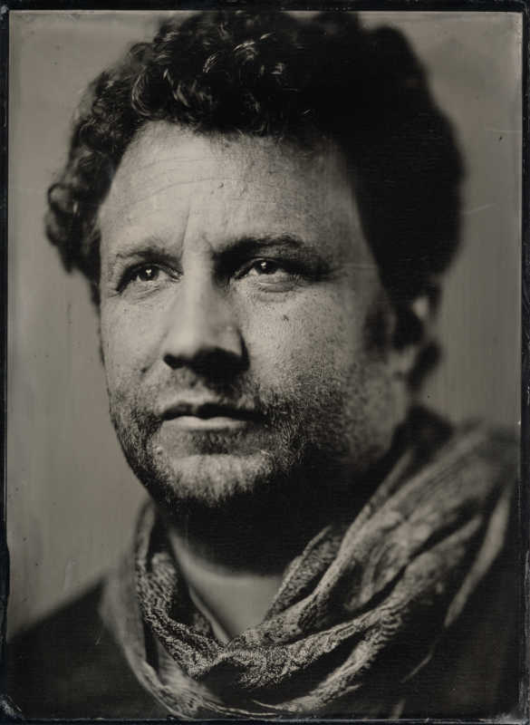 Thilo Nass Wet plate Kollodium Portrait of Roderick von Berlepsch