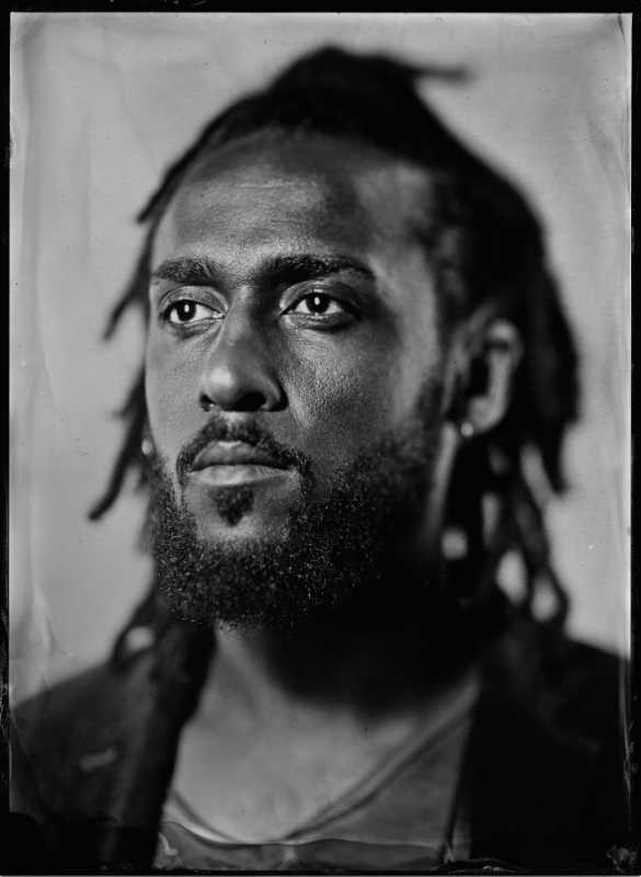Thilo Nass Wet plate Kollodium Portrait of Themba
