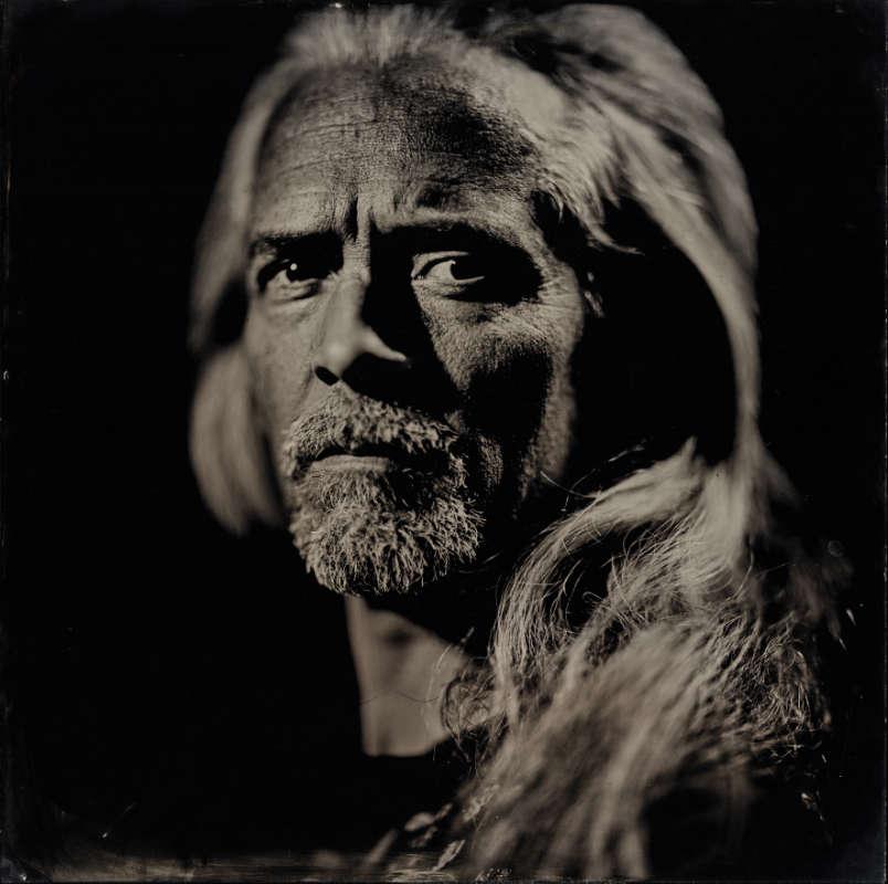 Chris - Portrait auf Kollodium Nassplatte - Fotograf Thilo Nass Silberbilder