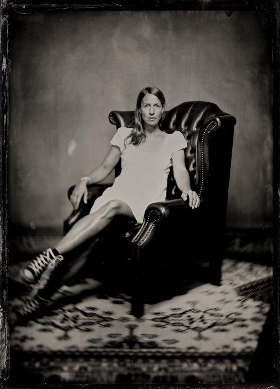 Portrait auf Kollodium Nassplatte von Thilop Nass